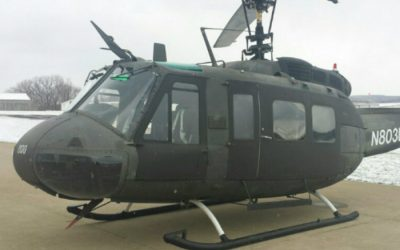 PAC International performs facelift on Michigan State Police Huey