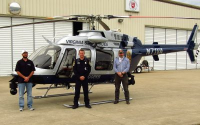 PAC International delivers new Bell 407GXi to Virginia State Police