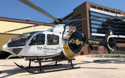 PAC International delivers three upgraded EC135s to North Carolina
