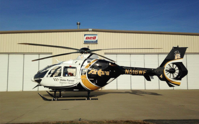 PAC International delivers fourth EC135 to Wake Forest Baptist Health