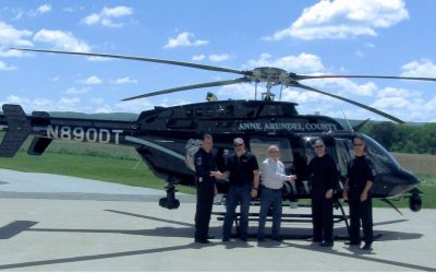 PAC International Customizes new Bell 407GXi for Anne Arundel County